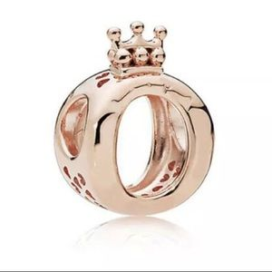 CROWN O SHINE ROSE GOLD CHARM
